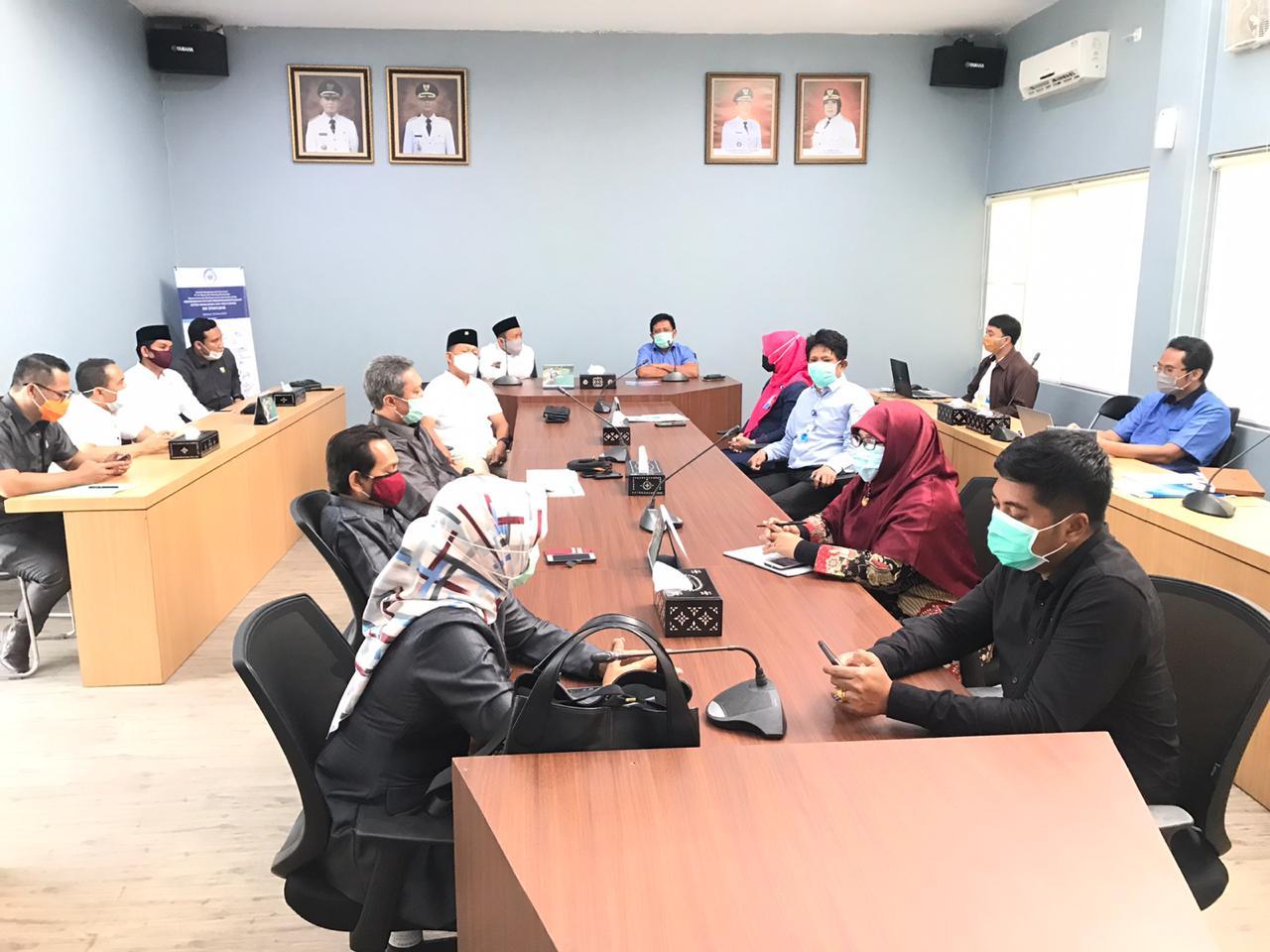 Kegiatan Kunjungan Kerja Pansus DPRD Kota Mataram Ke PT Air Minum Giri Menang (Perseroda)